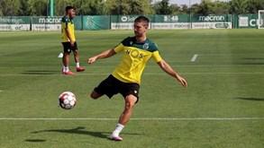 Vietto continua a treinar à parte da equipa do Sporting