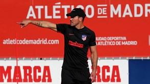 Atlético Madrid regressa aos trabalhos amanhã e viaja para estágio segunda-feira