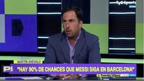 «Há 90% de hipóteses de Messi ficar no Barcelona»: Jornalista argentino crê em reviravolta