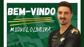 Moreirense confirma acordo com guarda-redes Miguel Oliveira