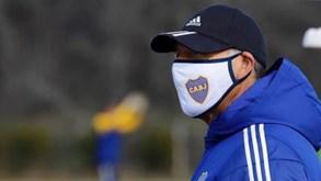 Surto de Covid-19 no Boca Juniors: Onze titular e mais sete jogadores estão infetados