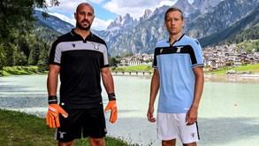 Lazio apresenta equipamento que vai utilizar na Champions