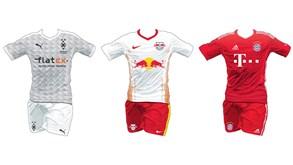 Conheça todas as camisolas das equipas da Bundesliga 2020/21