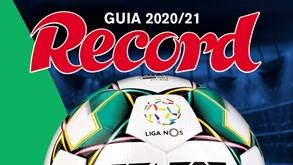 Guia Record 2020/21 já está nas bancas: tenha o melhor ponto de vista sobre a nova época