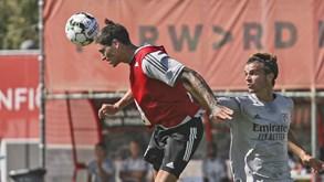 Darwin já mostra serviço pelo Benfica