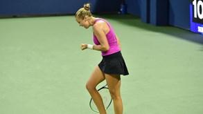US Open: Shelby Rogers afasta Petra Kvitova e está nos quartos de final
