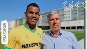 Mateus Barbosa é reforço do Mafra para as próximas três temporadas