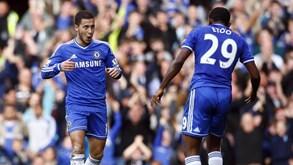 Samuel Eto'o: «Hazard está ao nível de Messi»