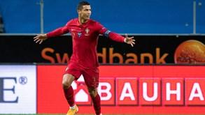 Cristiano Ronaldo chega aos 100 golos pela Seleção Nacional