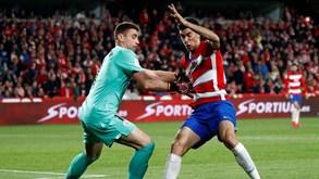 Granada-Athletic Bilbao: Rui Silva e Domingos Duarte iniciam época