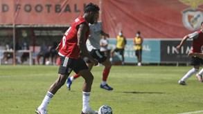 Dyego Sousa ficou de fora da lista do Benfica para a Champions