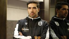 Abel Ferreira: «Benfica é favorito mas vamos tentar enganá-los»