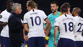 Tottenham em ebulição: jogadores revoltados com críticas de Mourinho