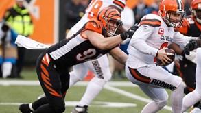 Cleveland Browns-Cincinnati Bengals: duelo de rivais na NFL