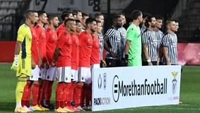 Agora é a 'doer': aí está o primeiro onze do Benfica da nova época