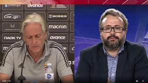 Vítor Pinto: «Benfica perdeu hoje 50M€ e Jesus já está a dizer a Vieira que tem de gastar mais 50M€?»