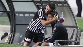 André Almeida desejou sorte a Zivkovic