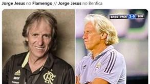 Adeptos do Flamengo avisam Jorge Jesus: «PAOK que nasce torto nunca se endireita»