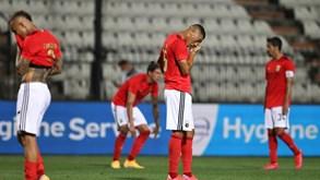 Benfica afunda mais de 4% em bolsa depois do adeus aos milhões da Champions