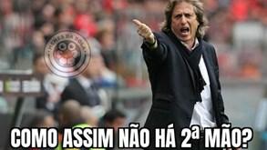 Internet não perdoa: memes implacáveis com Jorge Jesus e Benfica após saída da Champions