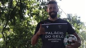Tiago Mesquita apresentado como reforço do Ac. Viseu
