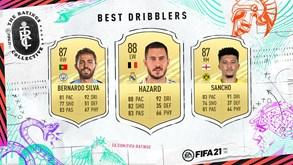 FIFA 21: Só Messi, Neymar e Hazard são melhores do que Bernardo Silva na arte de fazer magia