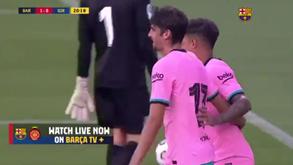 Trincão continua a mostrar serviço no Barcelona: agora assistiu Coutinho após jogada com Messi