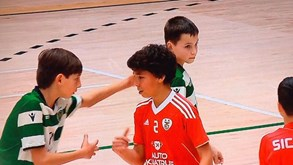 Benjamim do Sporting Dinis Costa vence prémio internacional de 'fair play'