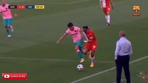 Uma assistência e vários momentos de classe: o melhor de Trincão no segundo jogo pelo Barcelona
