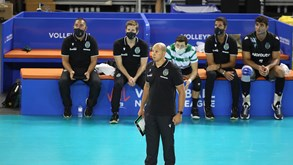 Treinador do voleibol do Sporting infetado com Covid-19