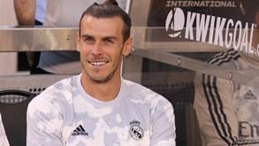 Gareth Bale custou ao Real Madrid 23.800 euros por minuto na última época