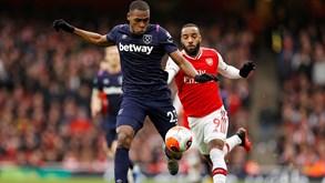 Arsenal-West Ham: dérbi londrino