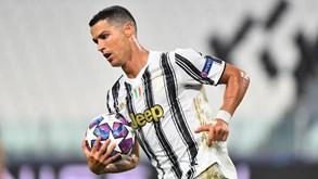 Juventus-Sampdoria: Cristiano Ronaldo quer arrancar a 'todo o gás' na Serie A