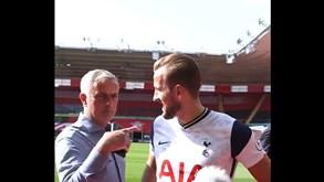 Mourinho interrompe 'flash' de Kane e 'dispara': «Este é que foi o melhor em campo»