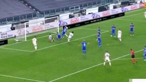 Bonucci aproveitou erro de um defesa da Sampdoria para fazer o 2-0 para a Juventus