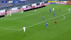 Desmarcação perfeita e remate indefensável: o primeiro golo da época de Cristiano Ronaldo