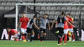Krasnodar-PAOK: carrasco de Benfica procura novo triunfo