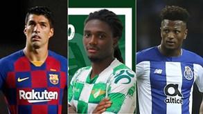 Mercado: Luis Suárez no At. Madrid, Benfica empresta médio ao Moreirense, Zé Luís aceita milhões turcos e Morata na Juve