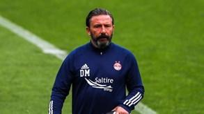 Treinador do Aberdeen espera Sporting 'forte' apesar dos casos de Covid-19