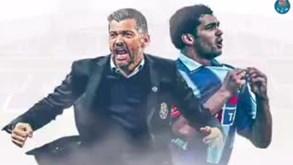 «A mística continua viva»: Sérgio Conceição deu os parabéns ao FC Porto com este vídeo