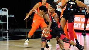 Las Vegas Aces-Connecticut Sun: 5.º jogo da meia-final do playoff da WNBA