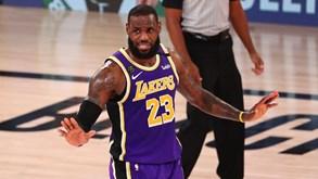Los Angeles Lakers-Miami Heat: eis o primeiro duelo da final do playoff da NBA