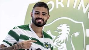 As primeiras imagens de Bruno Tabata equipado à Sporting