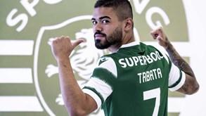 Tabata ataca maldição da camisola 7 no Sporting: conheça as 13 'vítimas' pós-Figo