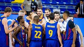 Barcelona-CSKA Moscovo: arranque da Liga europeia de basquetebol