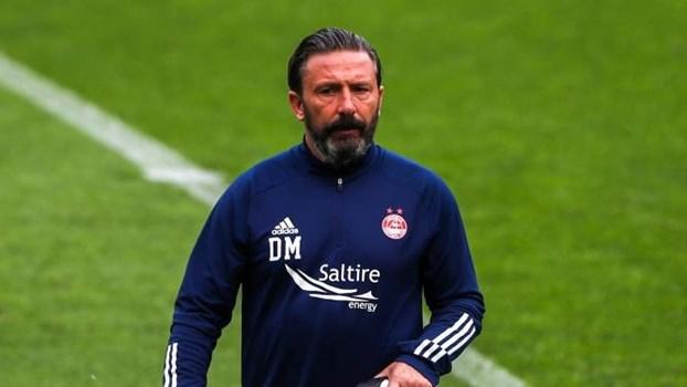 """Treinador do Aberdeen espera Sporting """"forte"""" apesar dos casos de Covid-19"""