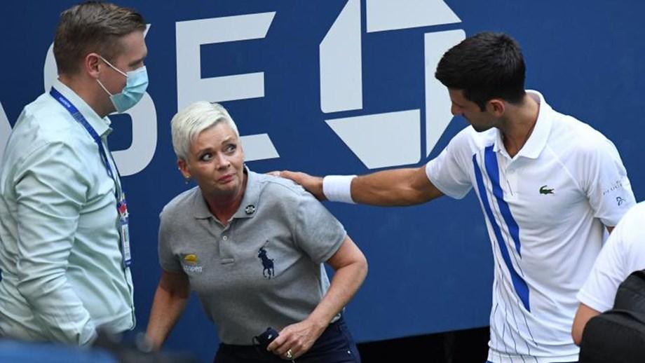 Djokovic pede desculpa por atitude no US Open: «Tão involuntária. Tão errada»