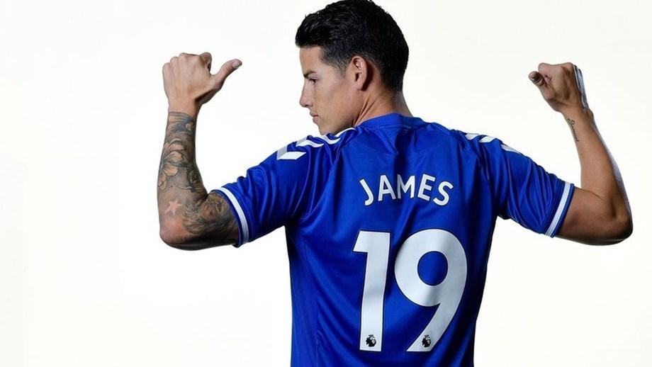 Um 'galático' em busca do brilho perdido no Everton: James e Ancelotti reencontram-se