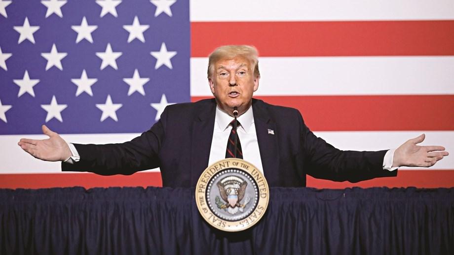 Donald Trump nomeado para Prémio Nobel da Paz
