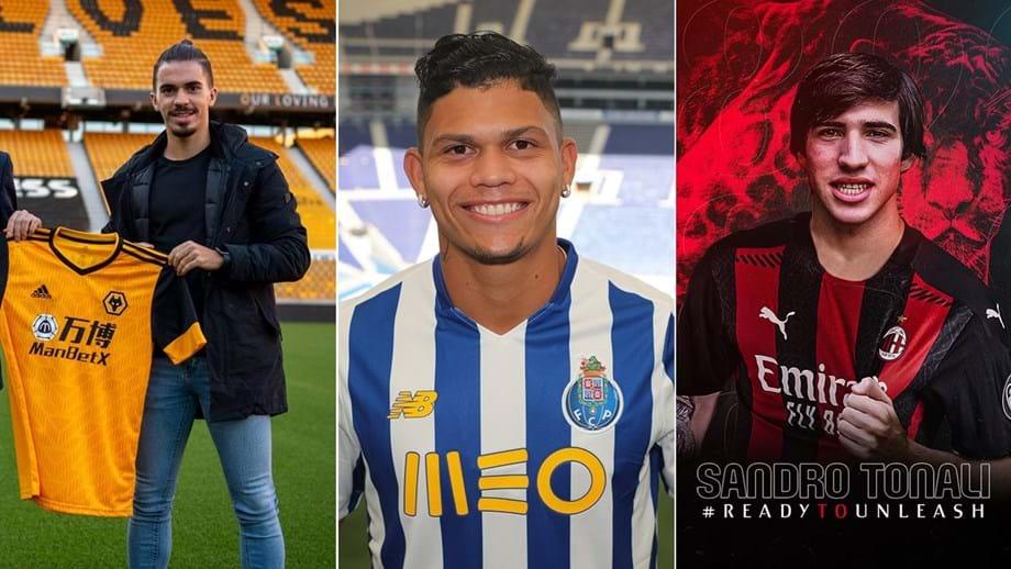 Mercado: Wolverhampton leva mais um jogador do FC Porto, dragões oficializam Evanilson e AC Milan assegura médio